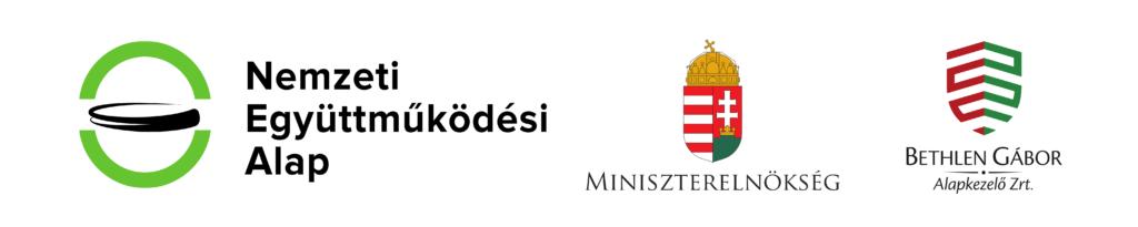Nemzeti Együttműködési Alap támogatói logó